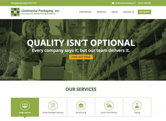 continentalpkg website